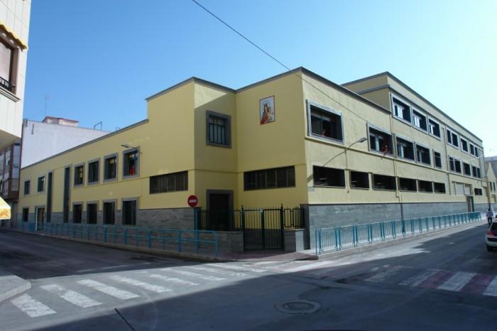 Fachada Colegio Diocesano Oratorio Festivo de Novelda