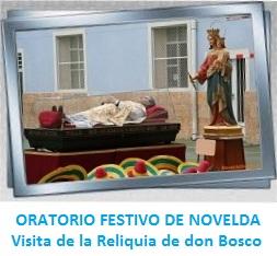 Galería de imágenes - Visita Reliquia Don Bosco
