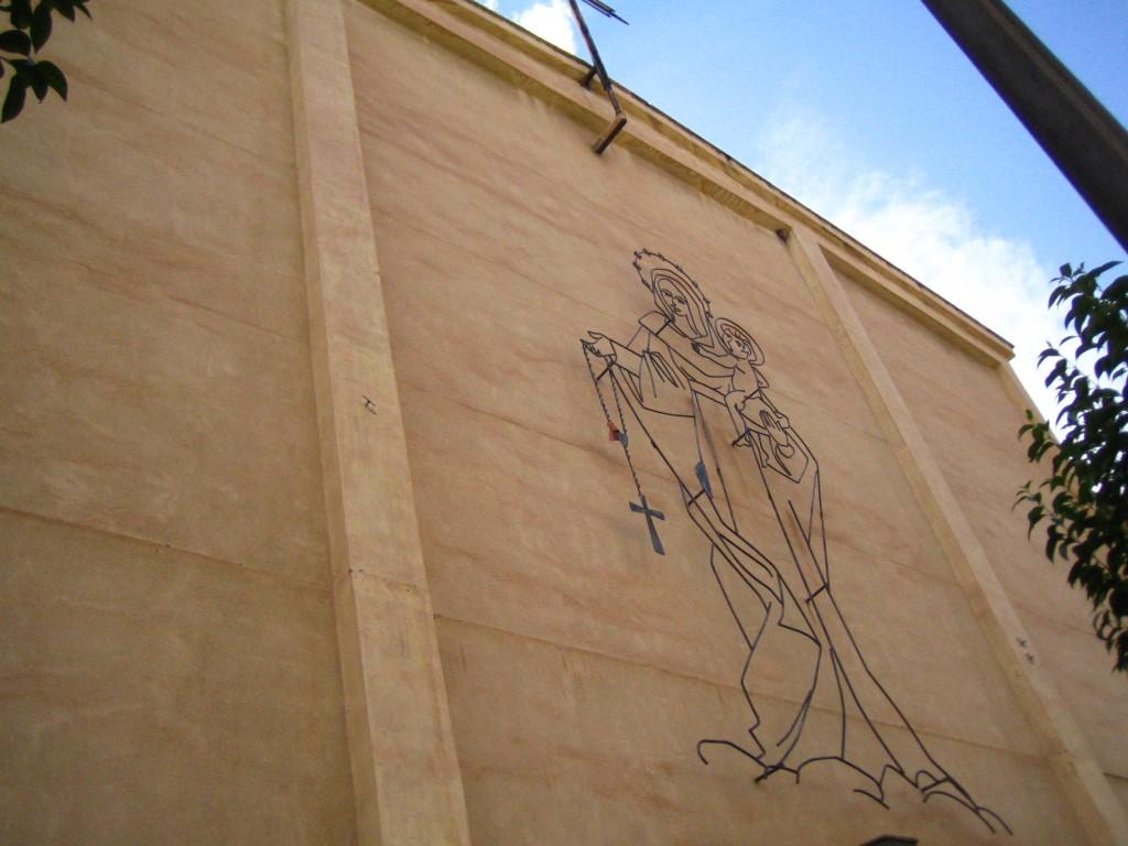 Fachada Parroquia Rosario y Colegio