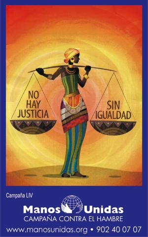 Cartel de Manos Unidas 2013
