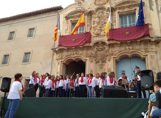 SANTO DOMINGO - Coro misionero vencedor II Festival Vocacional