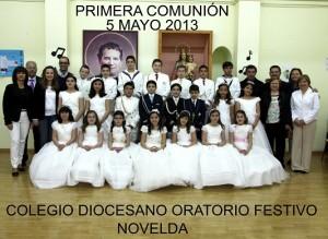 ORATORIO FESTIVO DE NOVELDA - Comunión de 4º A
