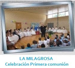 LA MILAGROSA - Celebración Primera Comunión