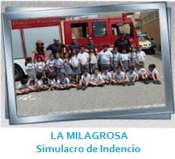 LA MILAGROSA - Simulacro de incendios Galería