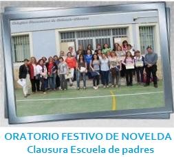 GALERÍA - ORATORIO FESTIVO DE NOVELDA - Clausura Escuela de padres