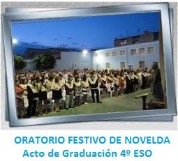 GALERÍA DE IMÁGENES - ORATORIO FESTIVO DE NOVELDA - Acto Graduación 4º ESO