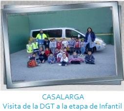 CASALARGA - Visita de la DGT a Infantil Galería