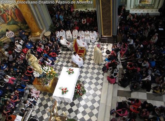 ENCUENTRO DIOCESANO DE NIÑOS CON EL OBISPO - Un éxito