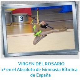 GALERÍA-Colegio Diocesano Virgen del Rosario  CARLA MOLINA campeona españa gimnasia rítmica Molina