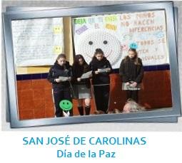 Galería día de la paz CAROLINAS