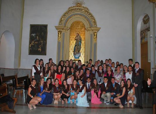 SAN JOSÉ DE CAROLINAS - Graduación de alumnos de 2º Bachillerato