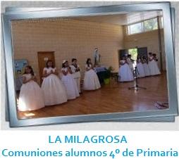 LA MILAGROSA - Cumuniones 2014 Galeria