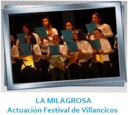 LA MILAGROSA - Participación Festival Diocesano de Villancicos Galería