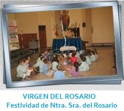 GALERÍA DE IMÁGENES - VIRGEN DEL ROSARIO – FESTIVIDAD DE NUESTRA SRA. DEL ROSARIO, 7 DE OCTUBRE