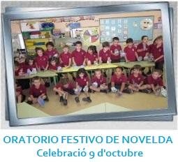 ORATORIO FESTIVO DE NOVELDA - Celebració 9 d'octubre