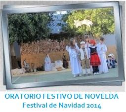 GALERÍA DE IMÁGENES - ORATORIO FESTIVO DE NOVELDA - Festival de Navidad 2014