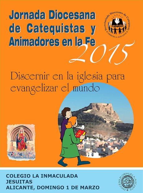 JORNADA DIOCESANA DE CATEQUISTAS 2015 - Domingo 1 de marzo