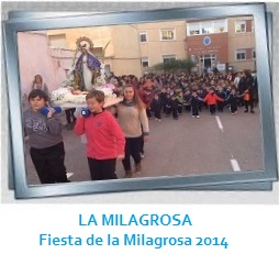 día de la Milagrosa 2014 GALERÍA