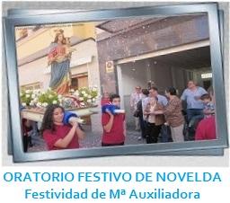 ORATORIO FESTIVO DE NOVELDA - Festividad de Mª Auxiliadora